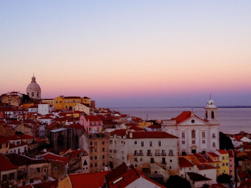 Lisbon sunset Double-Barrelled Travel What to do in Lisbon
