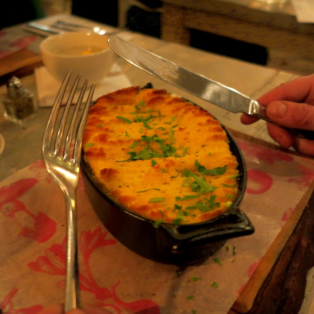 Fish pie - the ultimate homely dish