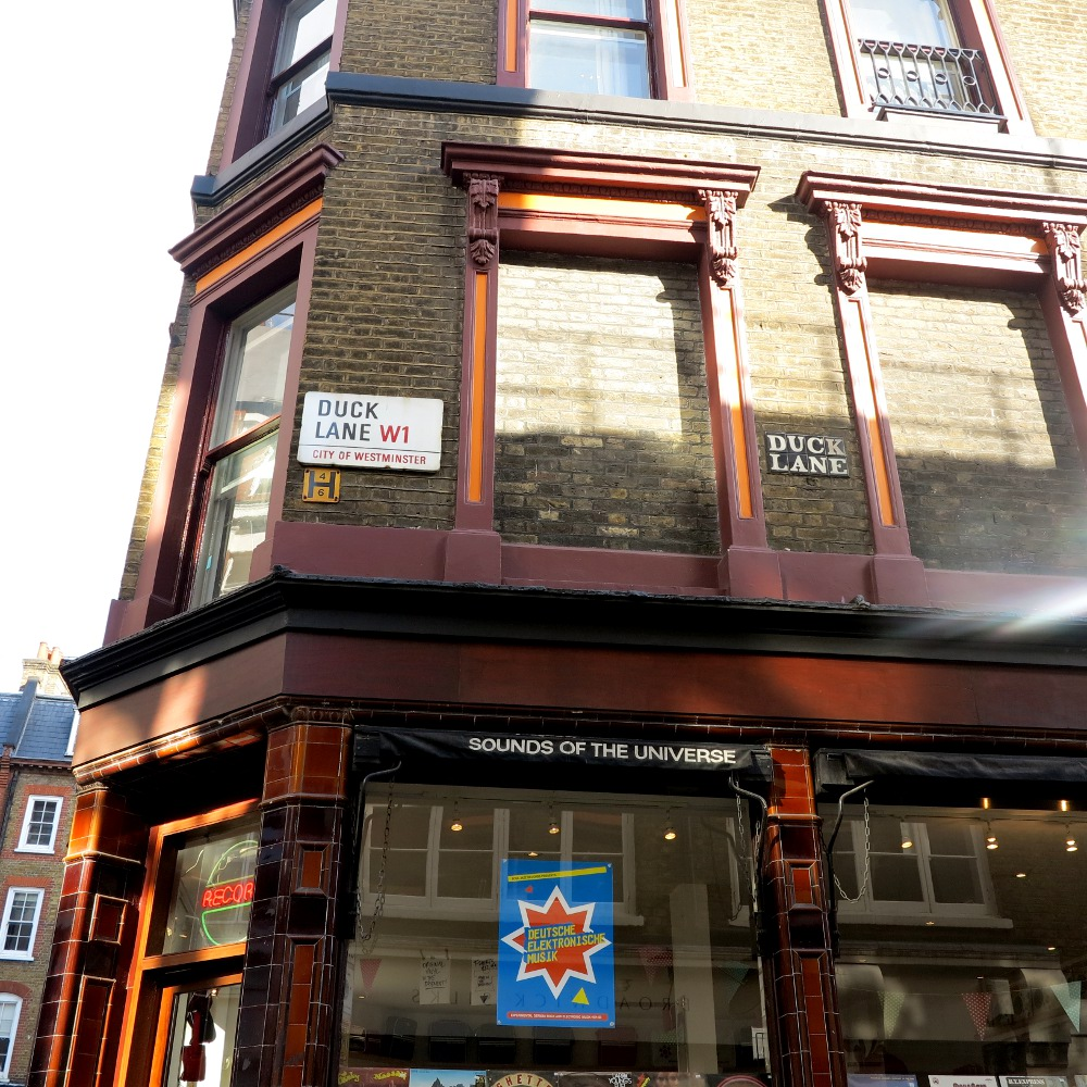 Formerly The Bricklayer's Arms, now Sounds of the Universe record store. But more famous for the fact The Rolling Stones auditioned here!
