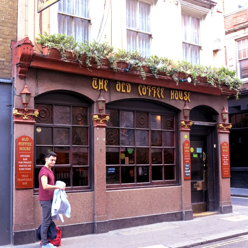 The Old Coffee House pub, where alcohol was once banned