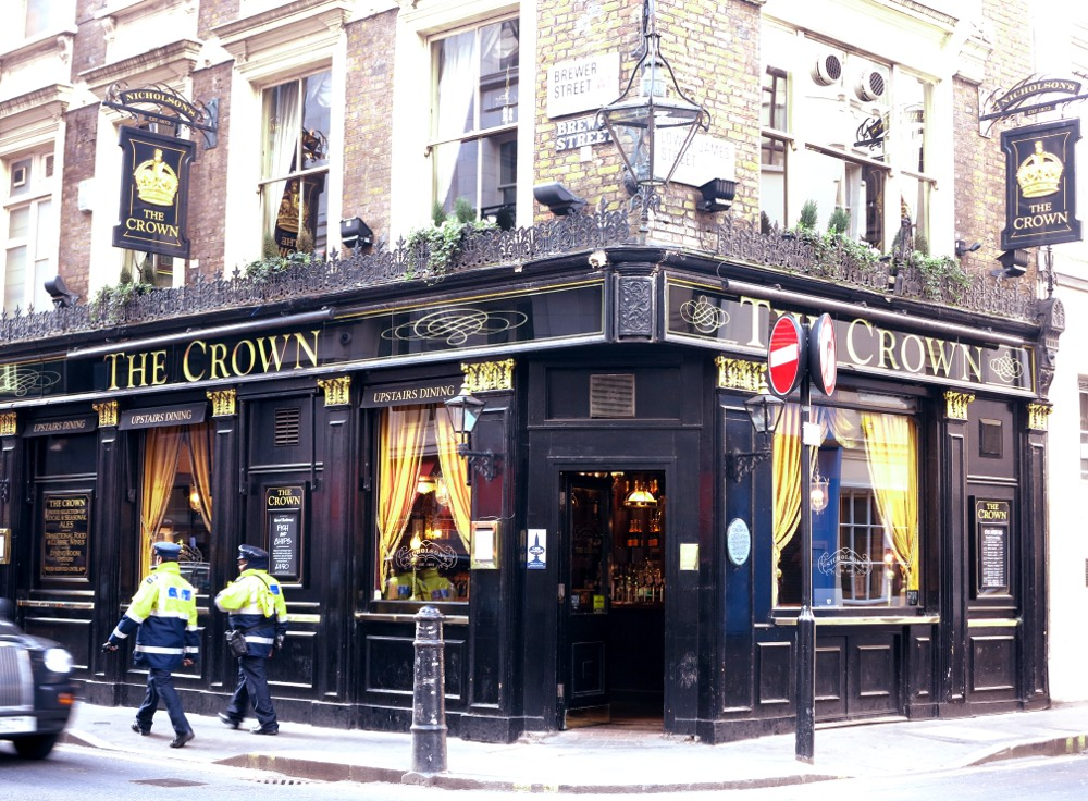 The Crown, where Mozart apparently once played