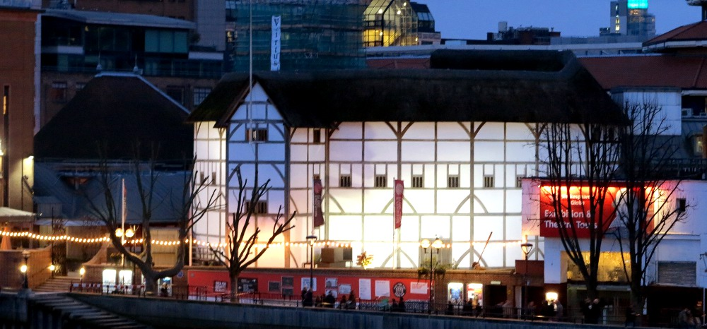 Shakespeare's Globe Theatre Double-Barrelled Travel