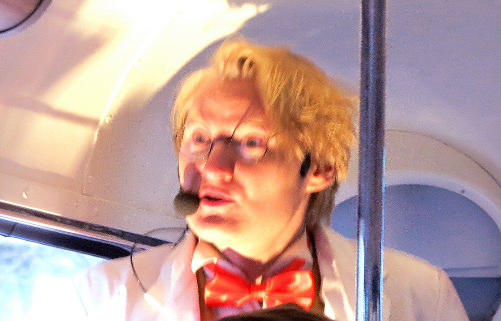 Professor Quantum - our guide on the London Time Tour