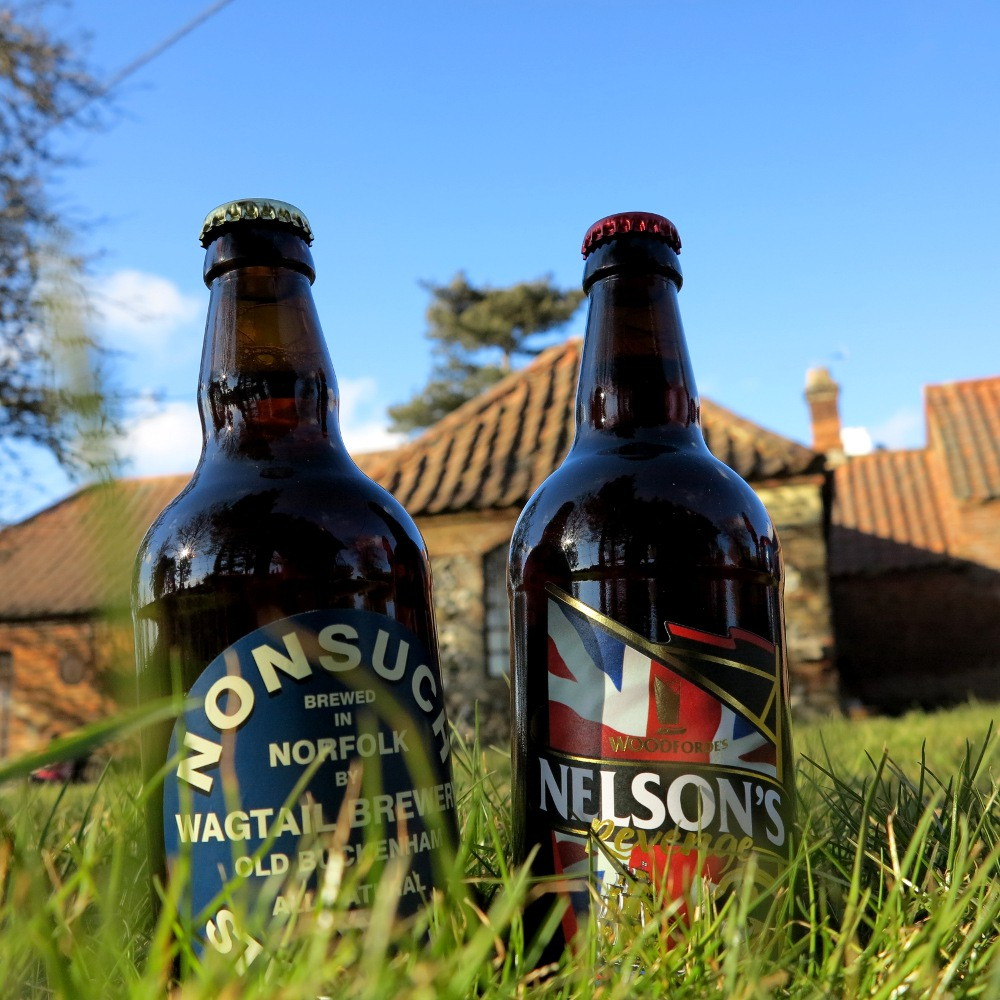Two of the best - Real Ale can go down a treat if you give it a chance