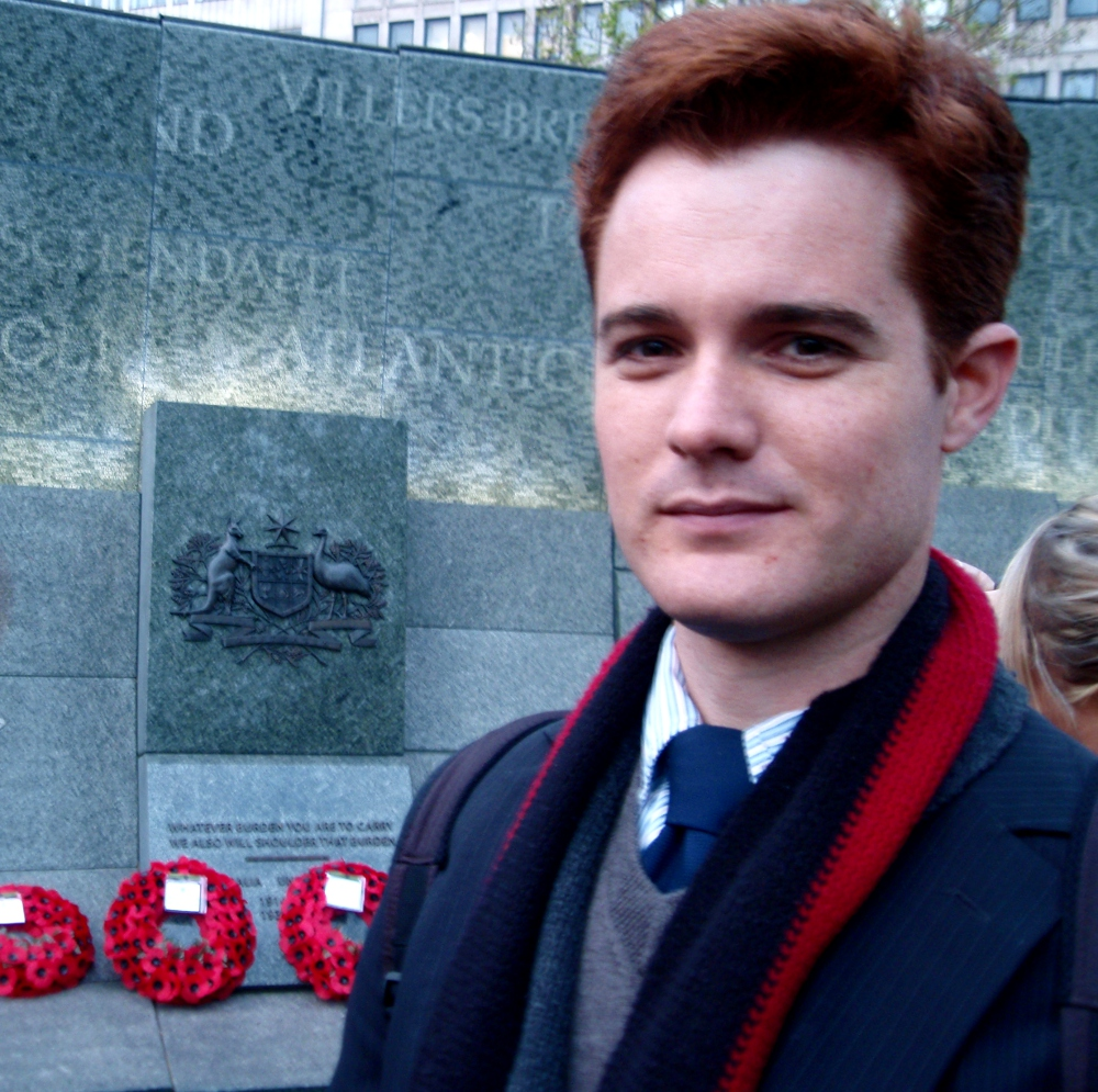 Me at the Australian War Memorial in London