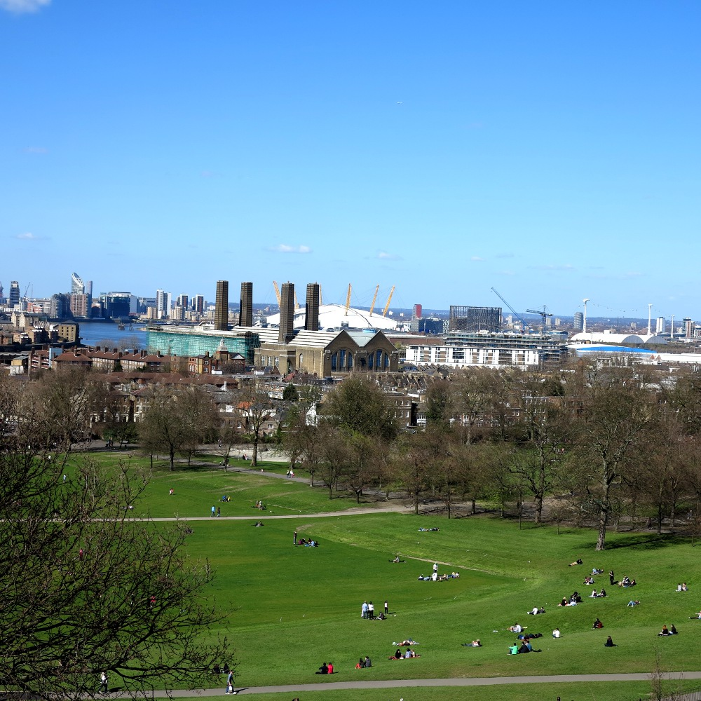 Greenwhich gives one of the best views of London, it's well worth the climb to the top!
