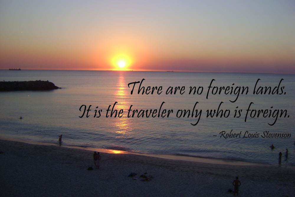 inspirational travel quote double barrelled travel2