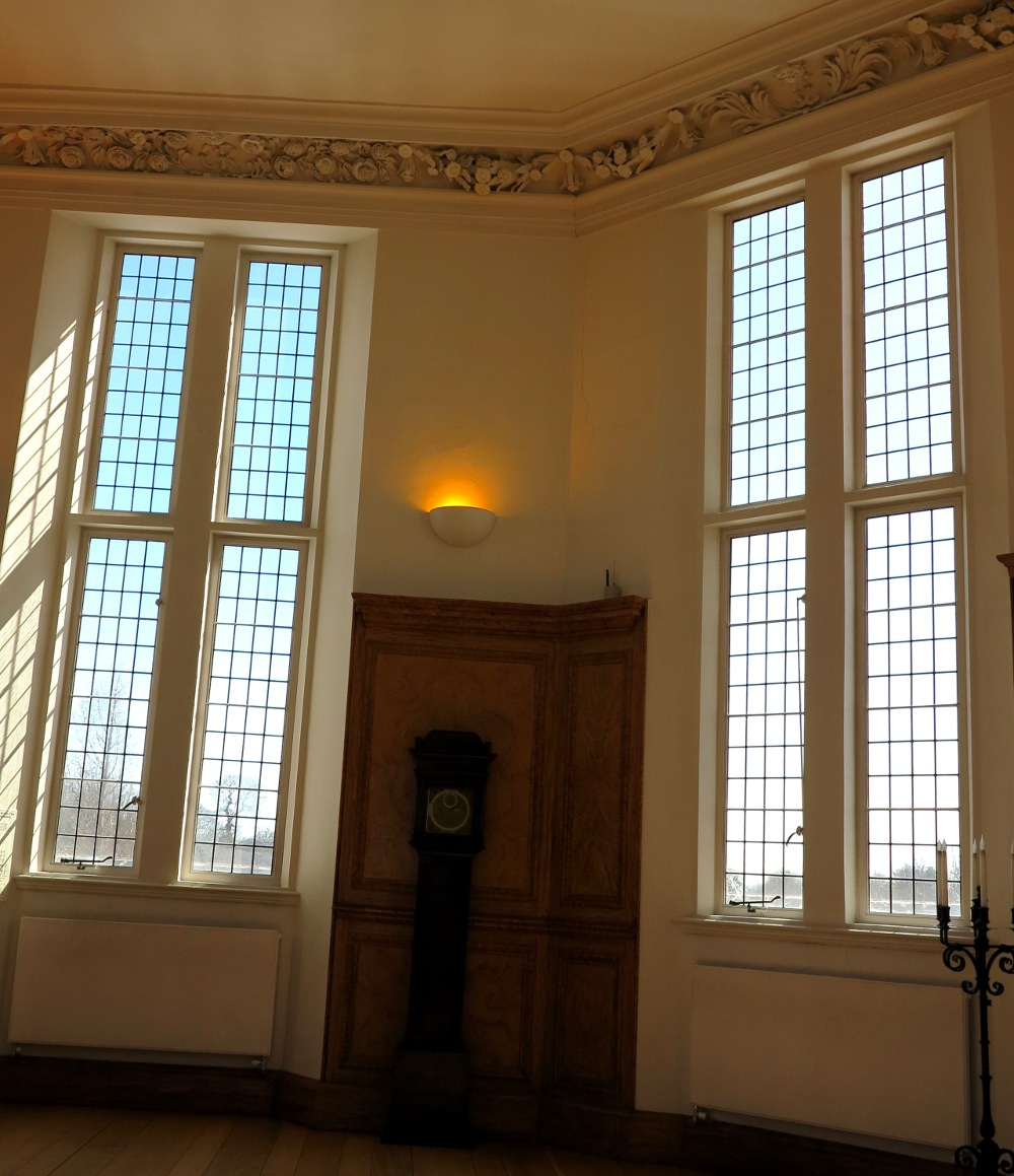This is The Octagon Room at the top of the Observatory where astronomers did some of their stargazing. It was mostly used to impress visitors though!