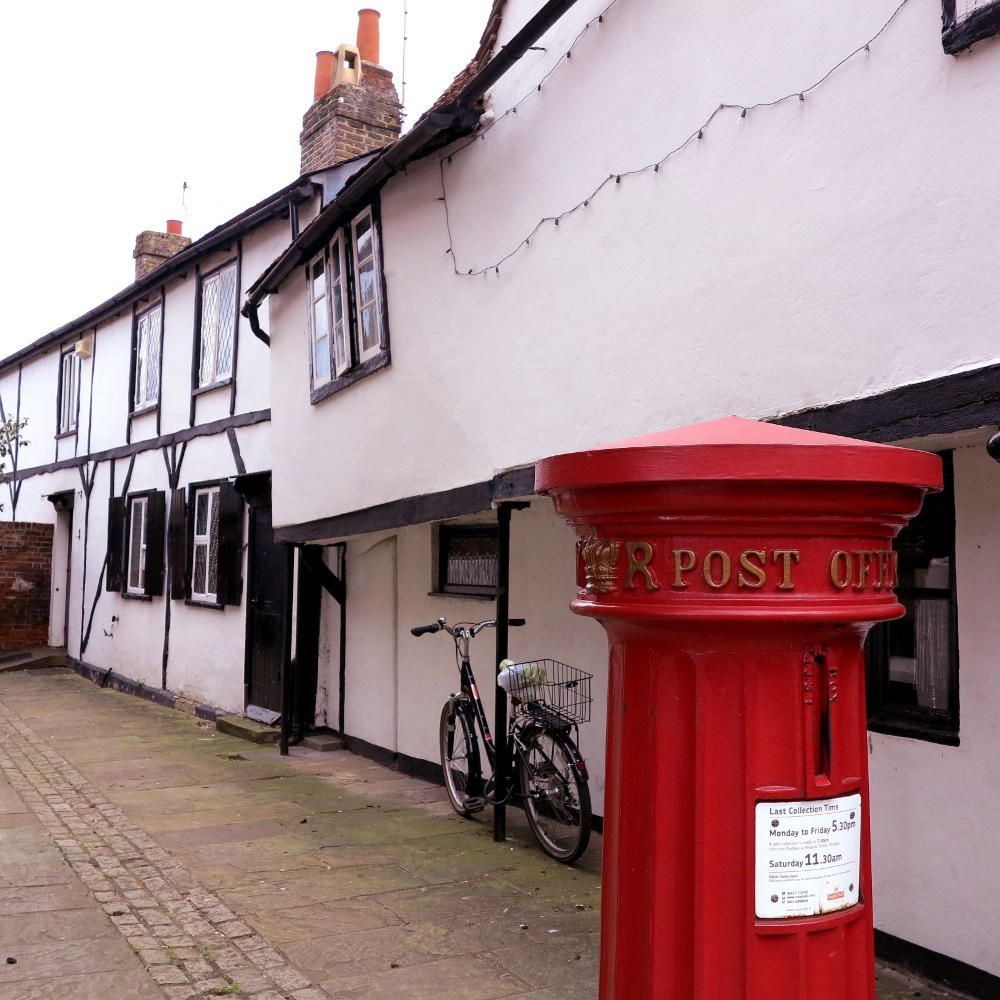 Pillar box in Windsor Double-Barrelled Travel