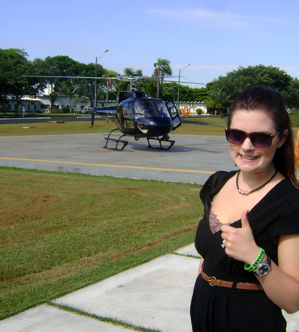Helicopter ride in Brazil Double-Barrelled Travel