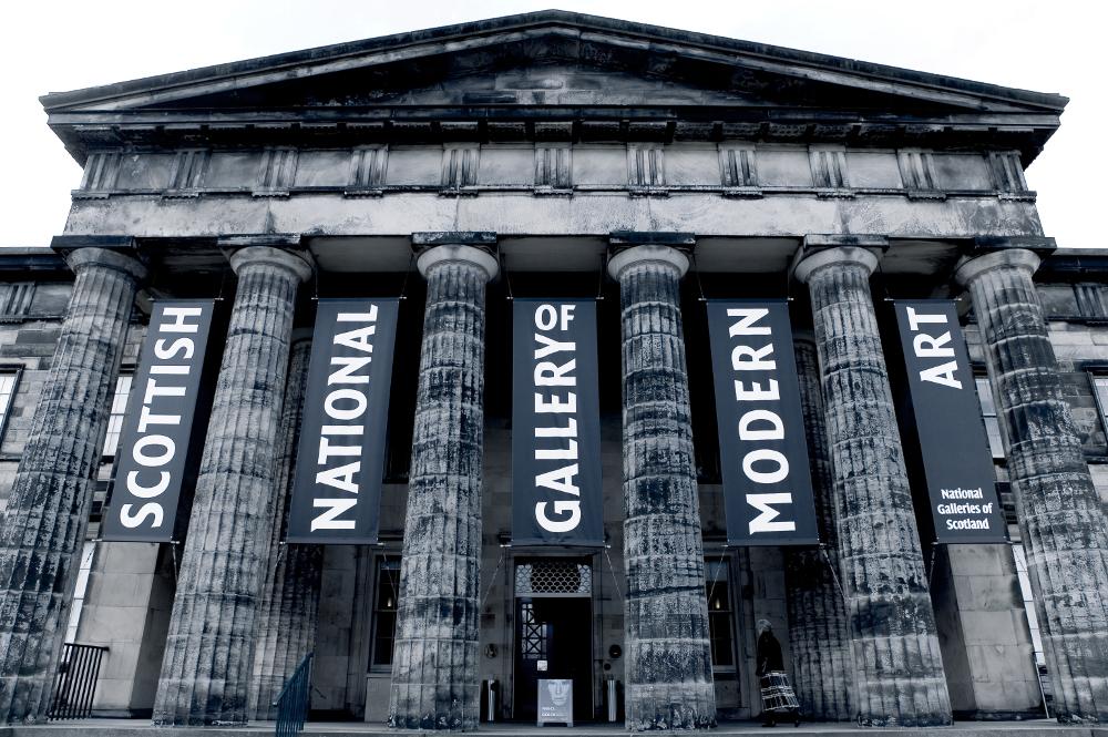 National Gallery Edinburgh Double-Barrelled Travel