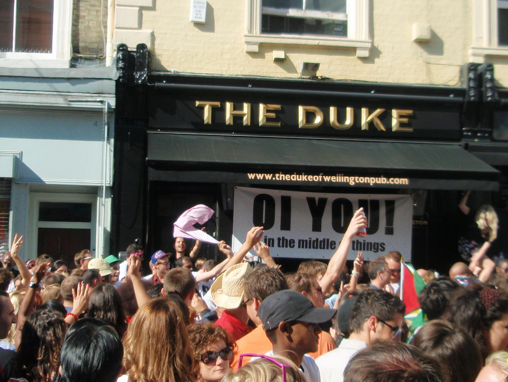 Notting Hill Carnival Double-Barrelled Travel