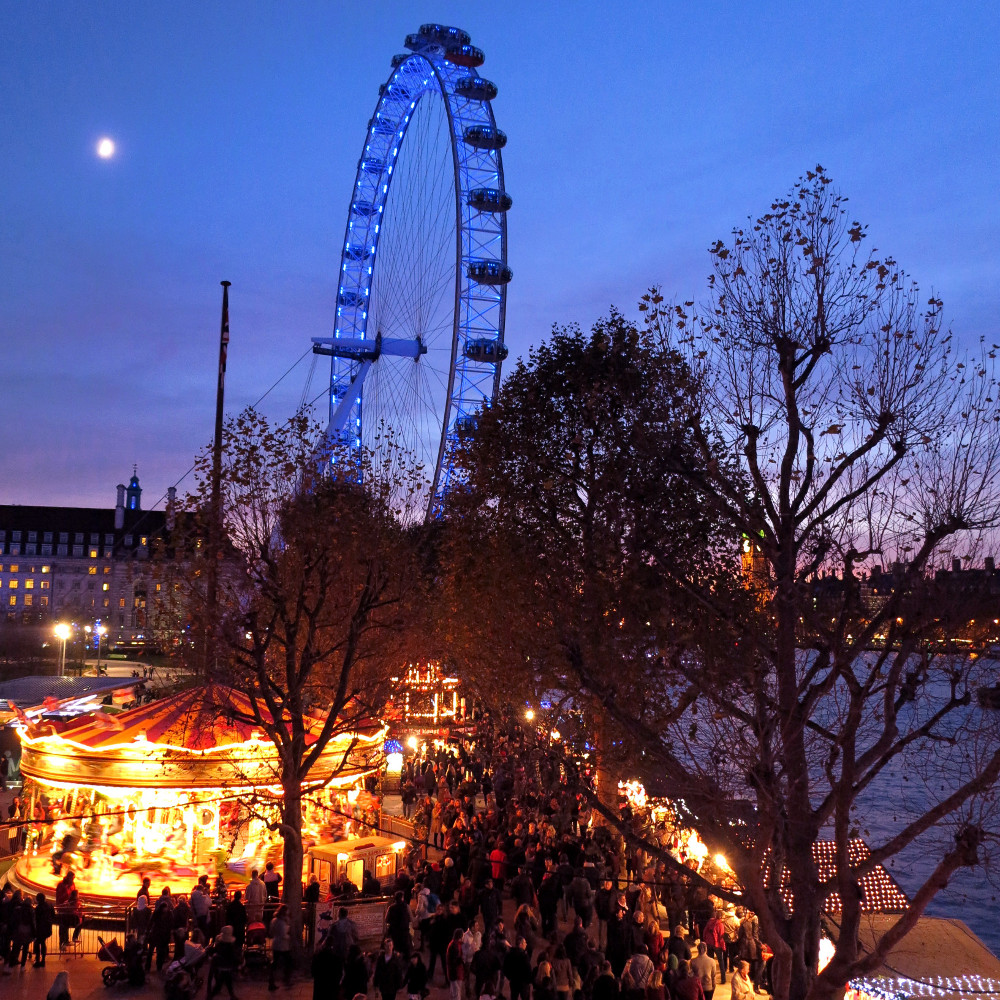 Southbankchristmas markets
