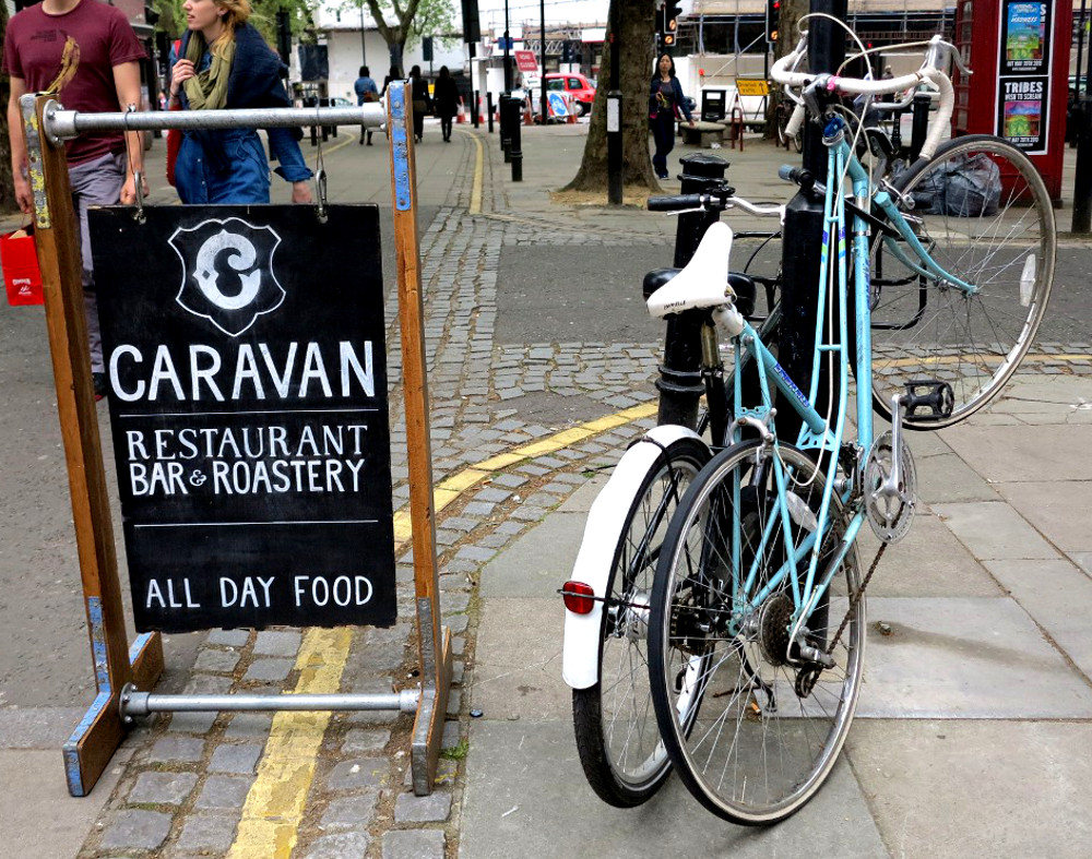 exmouth market Caravan Double-barrelled travel