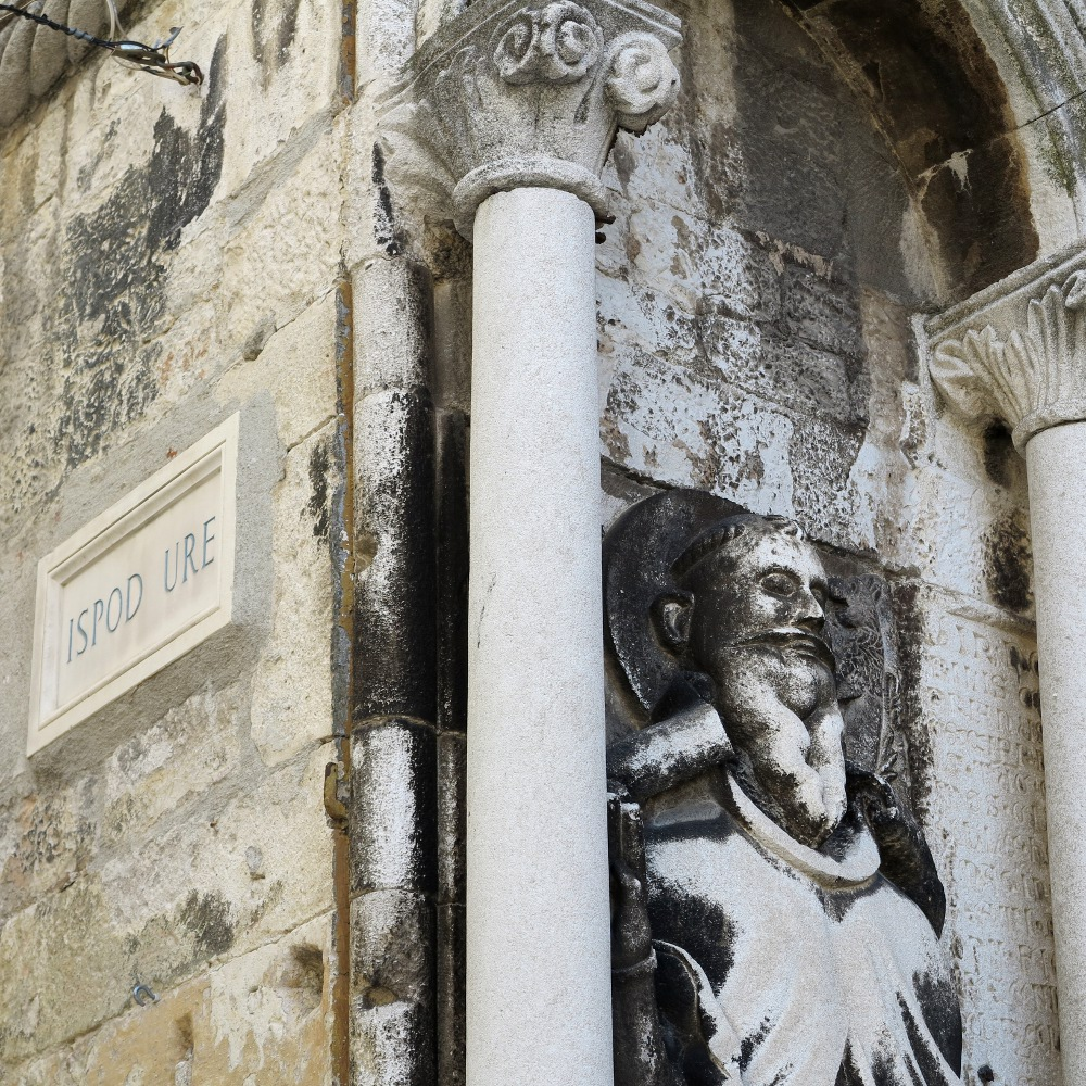 Split's tight, cobbled streets are a history lesson