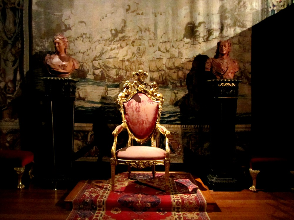 throne at Kensington Palace Double Barrelled Travel