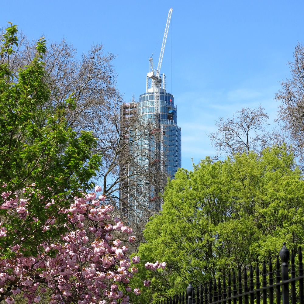 London in spring Double-Barrelled Travel