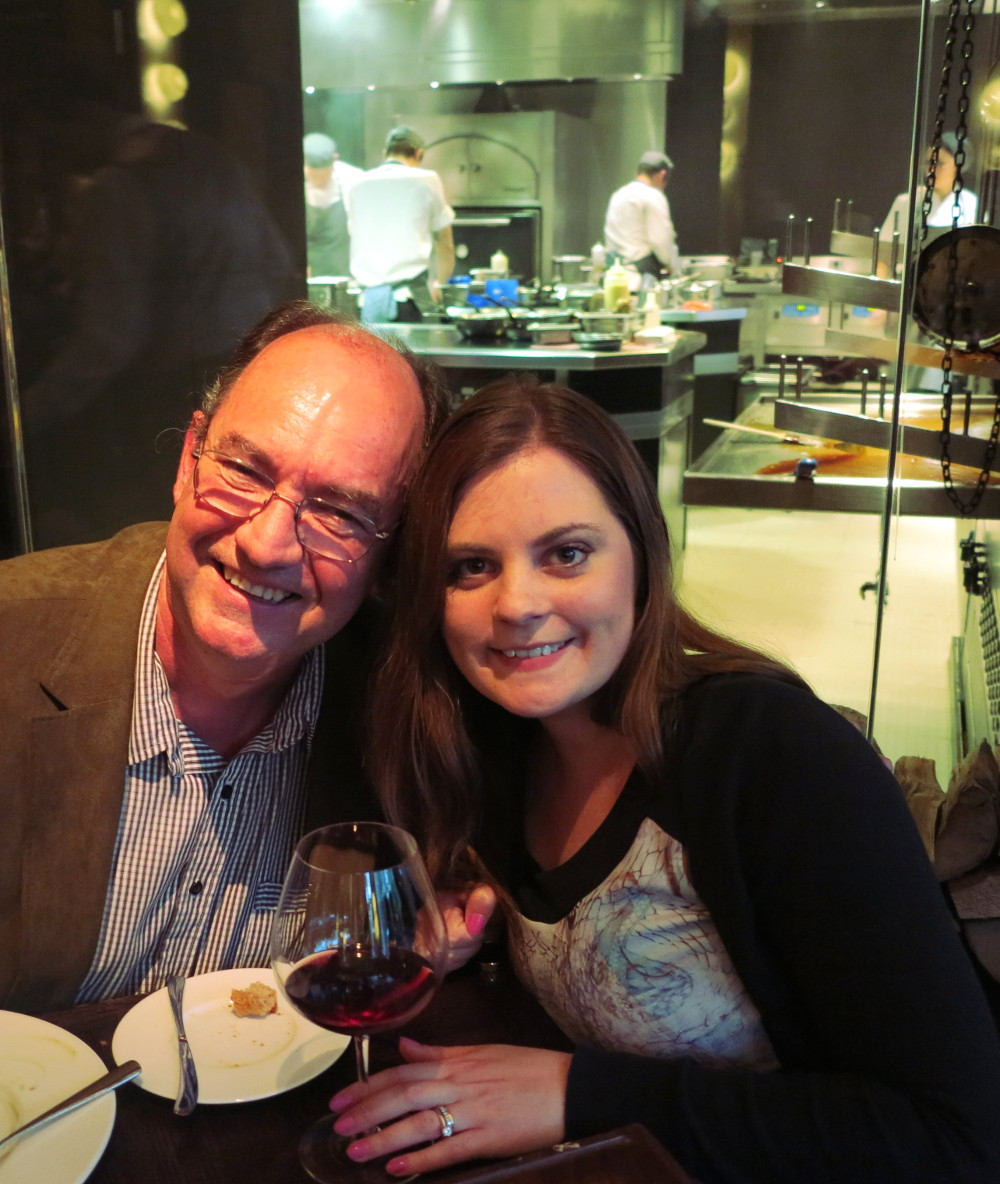 Carmen and Paul Dinner by Heston Double-Barrelled Travel