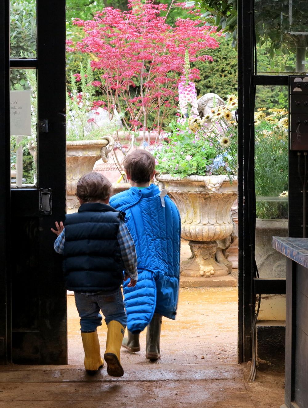 Petersham Nurseries Restaurant Double-Barrelled Travel