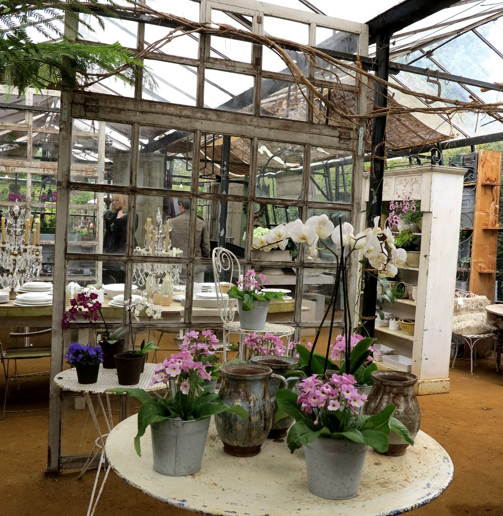 Petersham Nurseries Restaurant Double-Barrelled Travel
