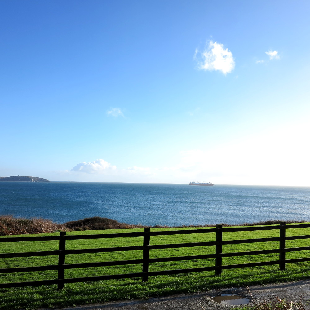 View from a country walk in Cornwall  Double-Barrelled Travel
