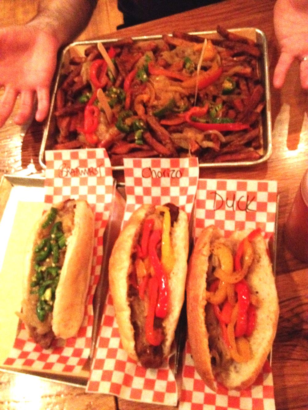 Wvrst burgers in Toronto Double-Barrelled Travel