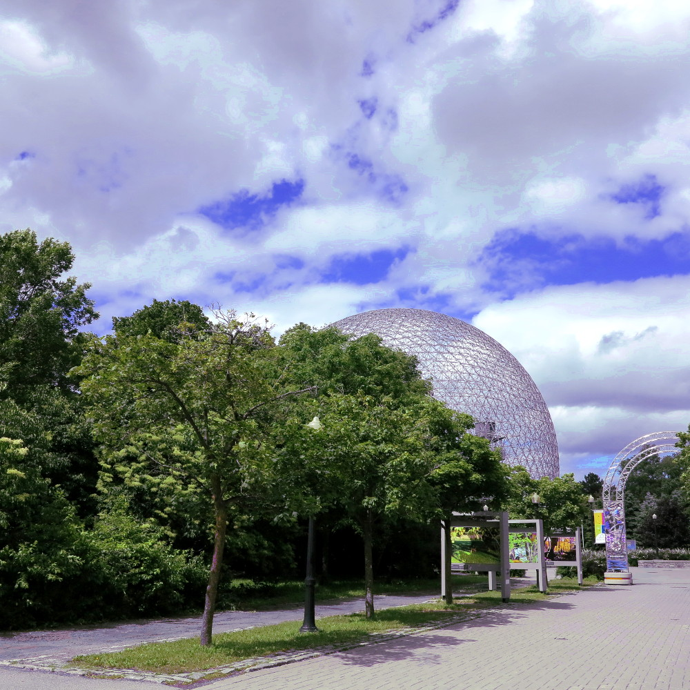 dome environment museum in Montreal Double-Barrelled Travel