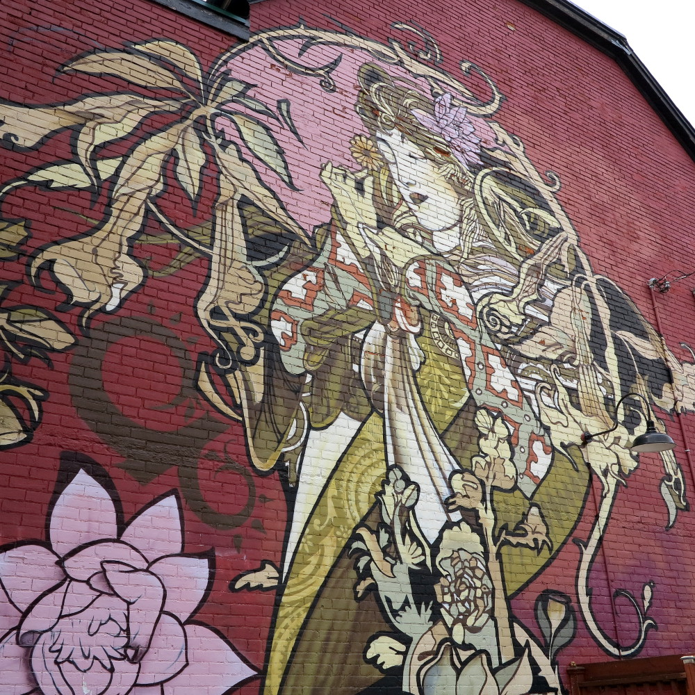graffiti in Kensington Market Double-Barrelled Travel