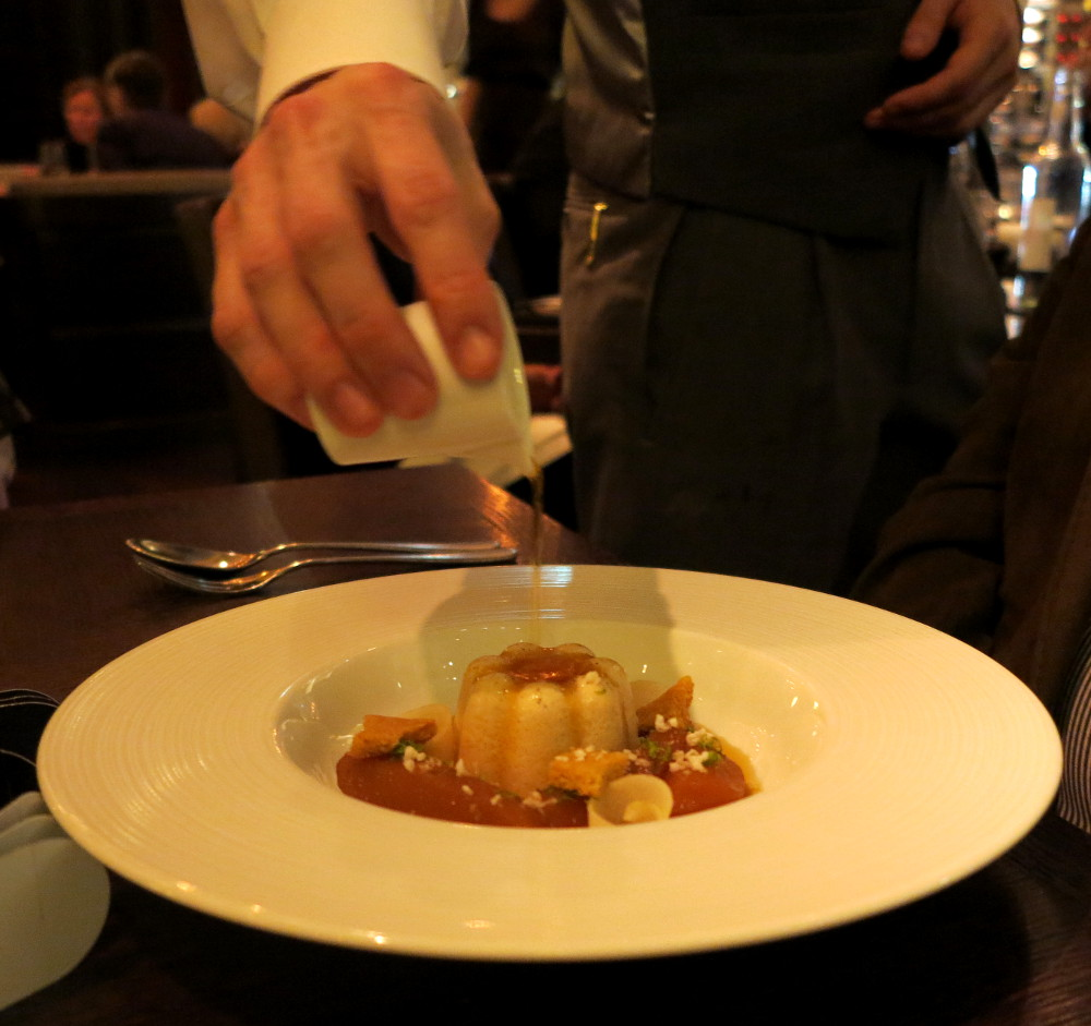 quaking pudding at Dinner by Heston Double-Barrelled Travel