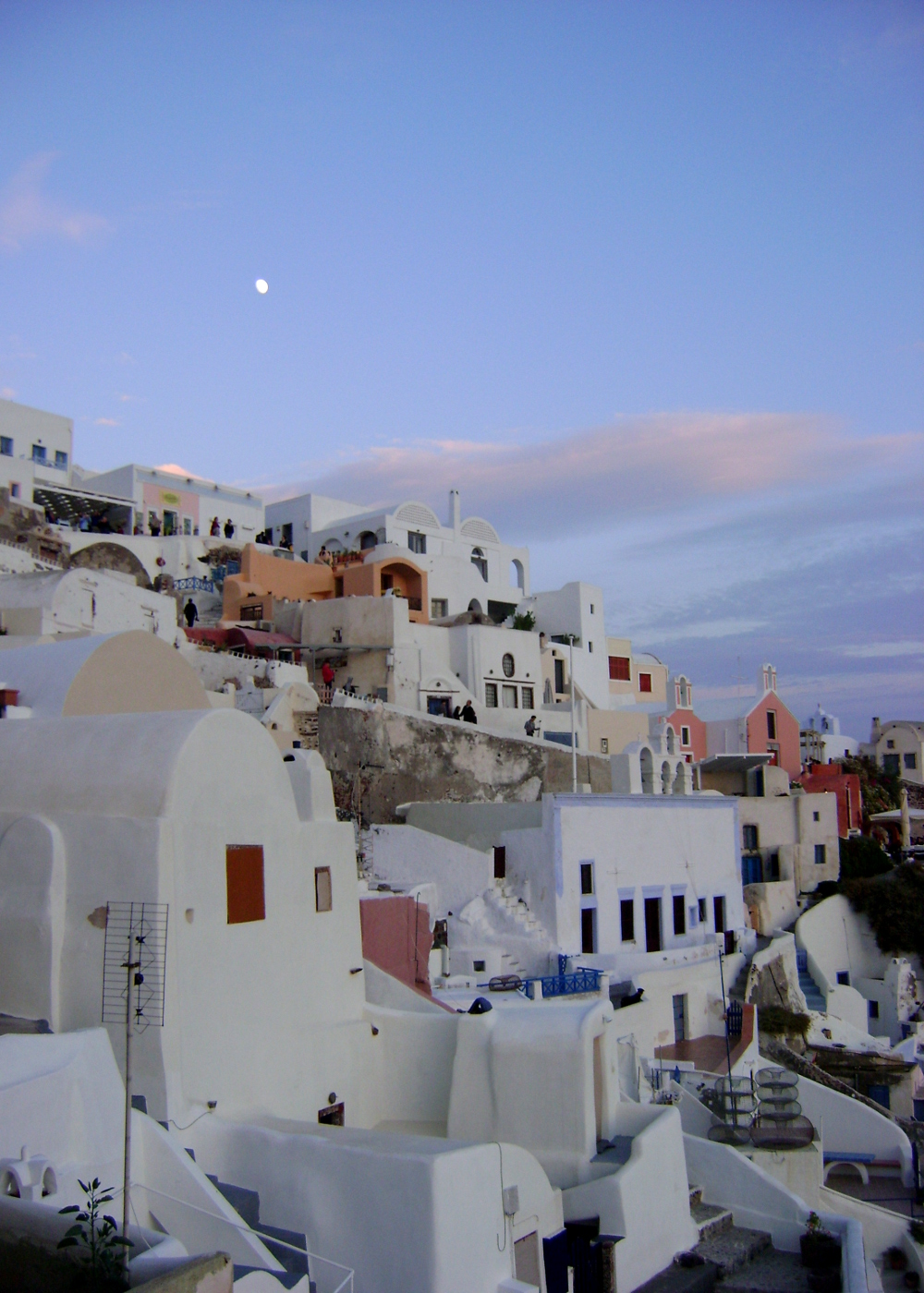 santorini sunset double Barrelled Travel