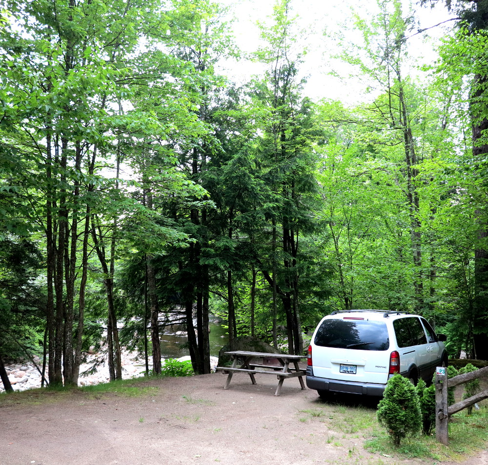 Camping at country bumpkins in New Hampshire Double-Barrelled Travel
