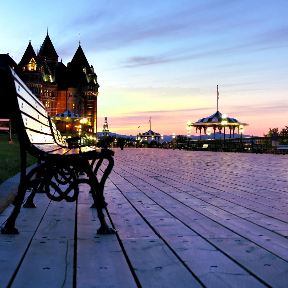Quebec city hotel Fairmont Le Chateau Frontenac double-barrelled travel2