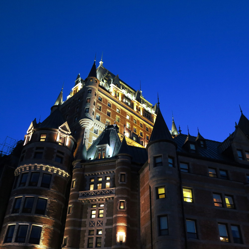 Quebec city hotel Fairmont Le Chateau Frontenac double-barrelled travel3