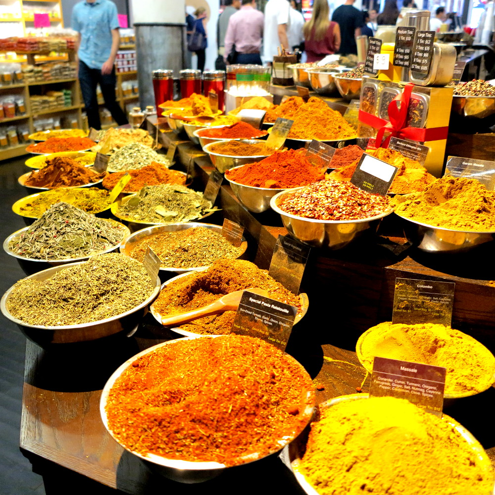 Spices at Chelsea Market  New York City Double-Barrelled Travel