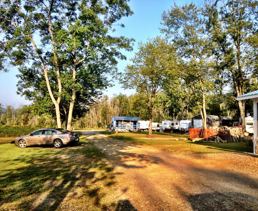 Swamp campground in Waterford Double-Barrelled Travel3