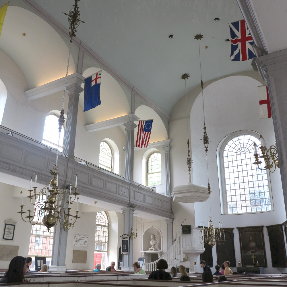 The Old North Church Boston Freedom Trail Double-Barrelled Travel