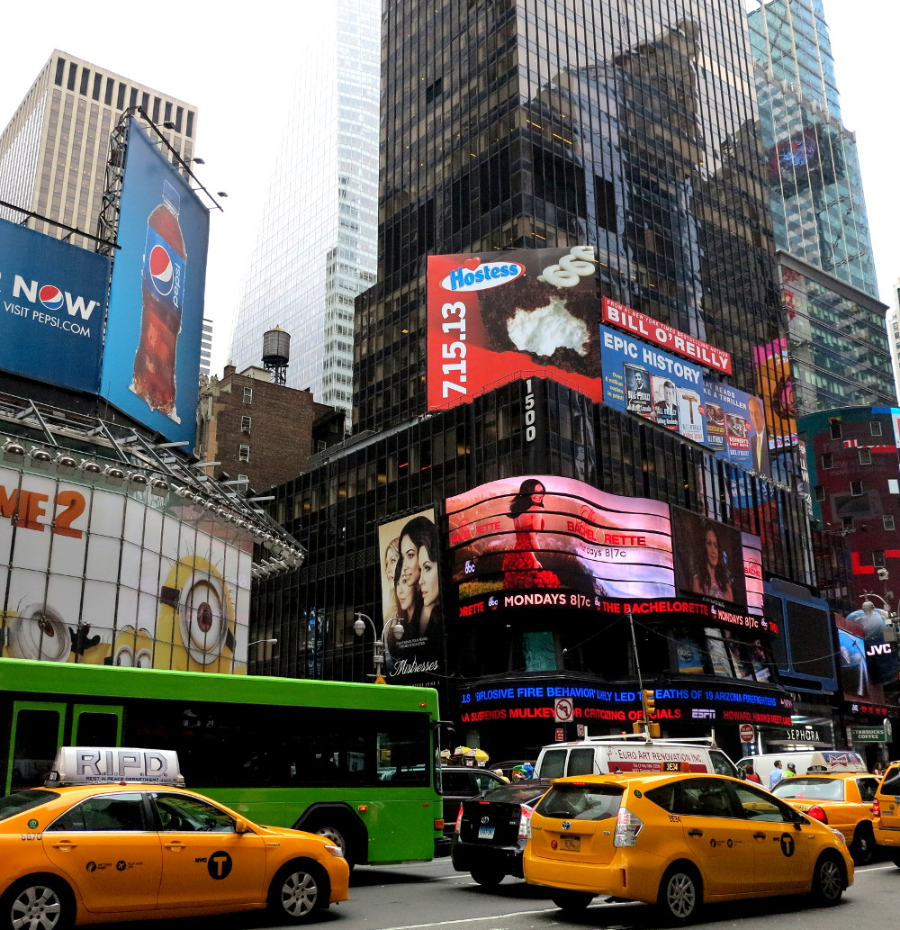 Times Square New York City Double-Barrelled Travel