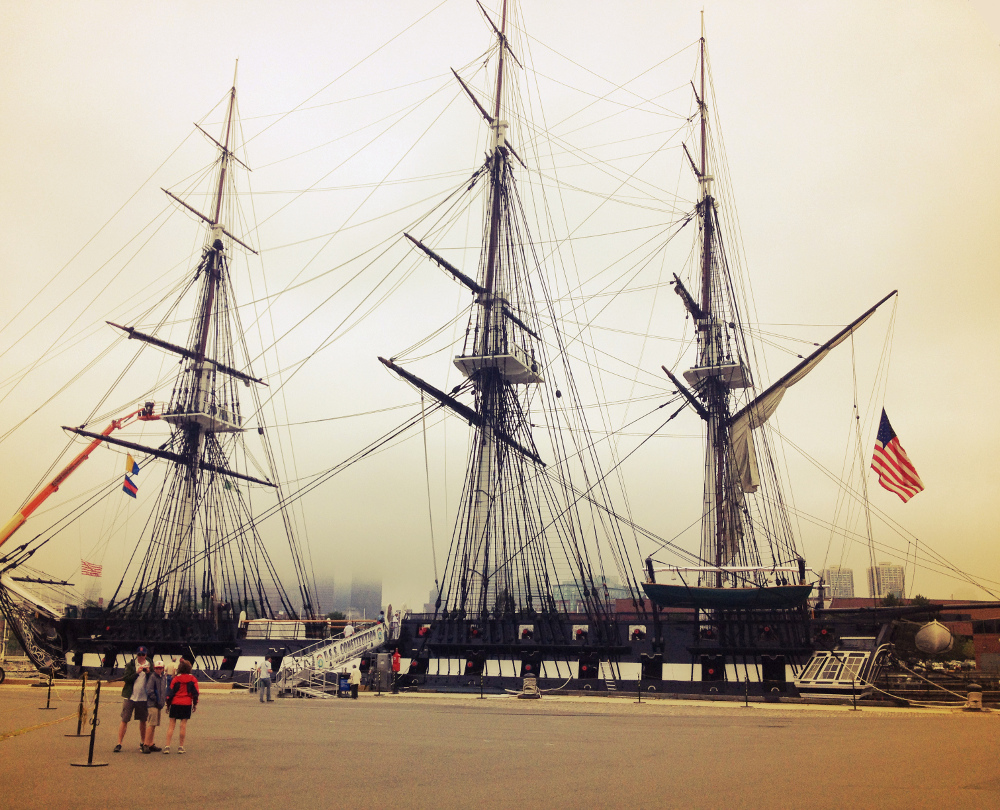 USS Constitution Boston Freedom Trail Double-Barrelled Travel