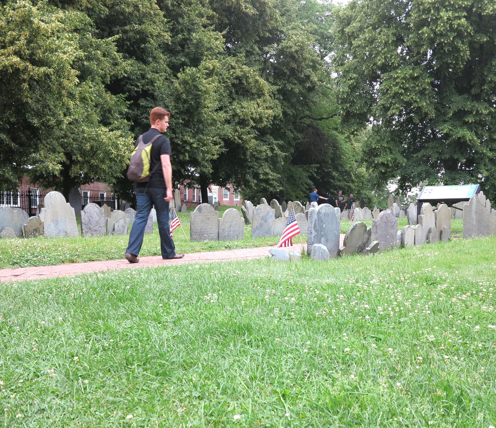 cemeteries on the Boston Freedom Trail Double-Barrelled Travel