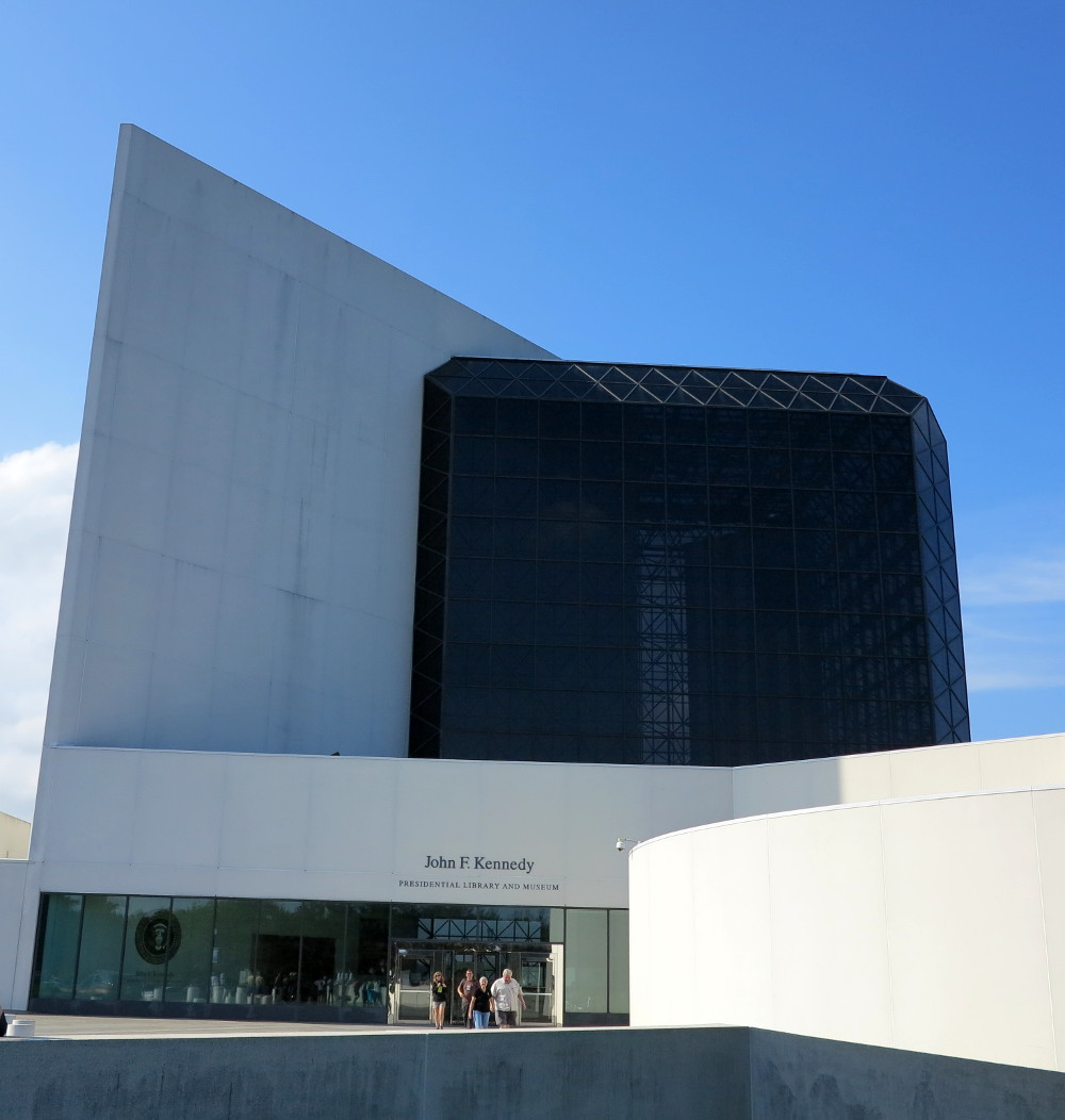 John F. Kennedy Presidential Library and Museum, Double-Barrelled Travel