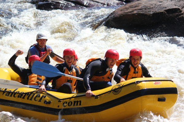 Whitewater rafting - Doube-Barrelled Travel