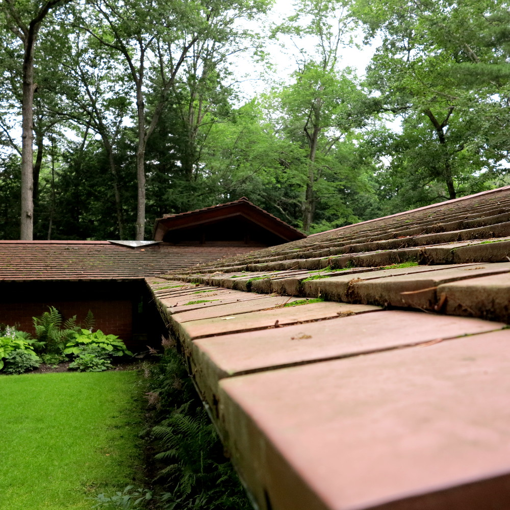 Frank Lloyd Wright, Double-Barrelled Travel Zimmerman House