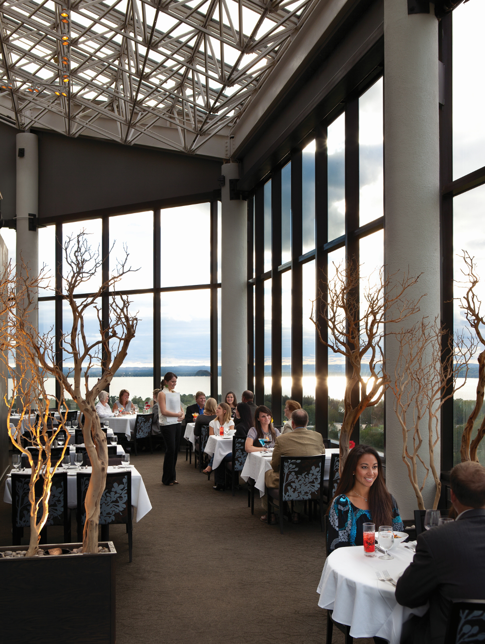 Aerie restaurant at the Grand Traverse Resort and Spa Double-Barrelled Travel