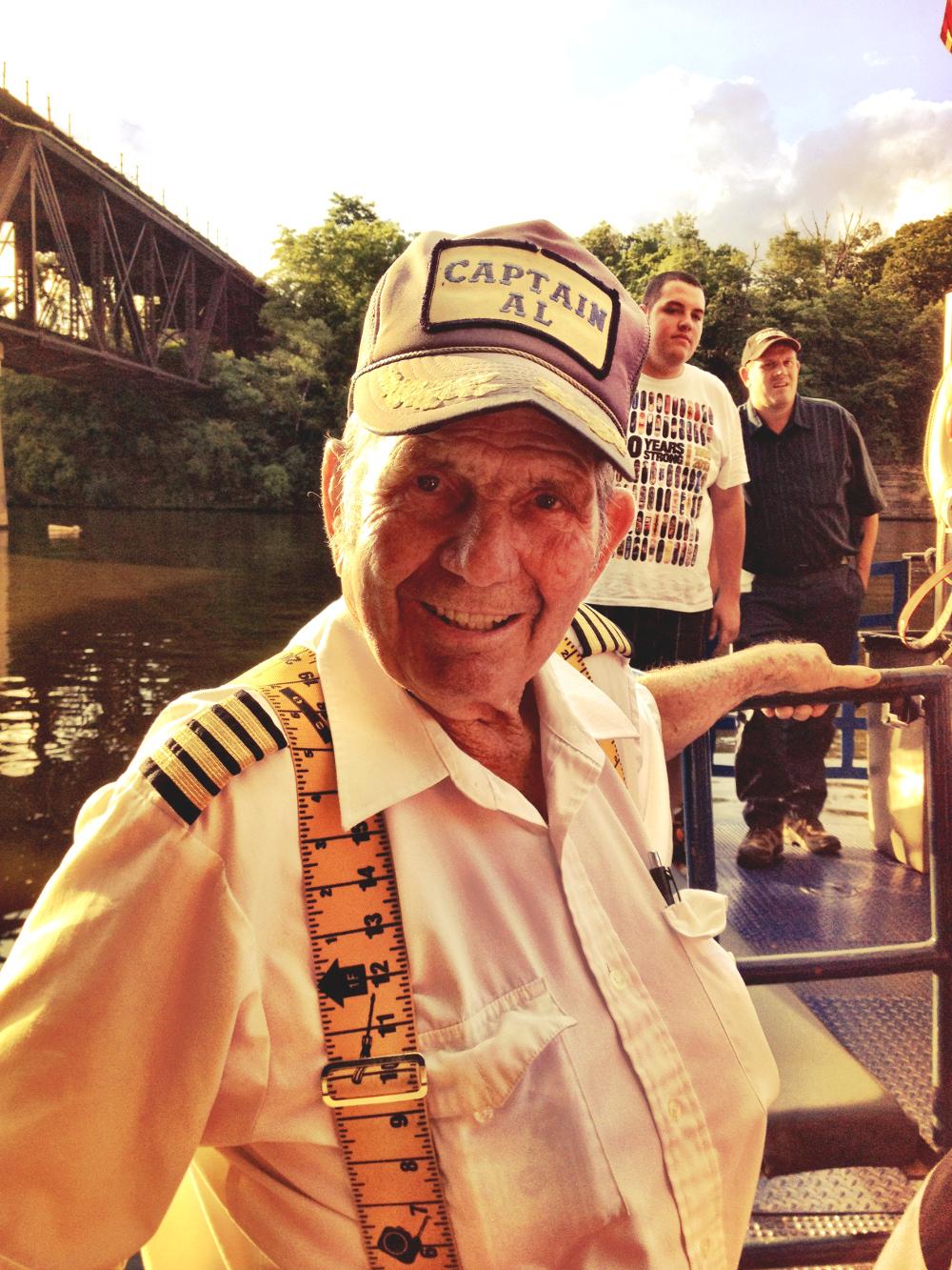 Captain Al Double-Barrelled Travel Wisconsin Dells Boat Tours