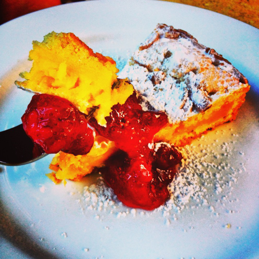 Cherry pie in Traverse City Double-Barrelled Travel