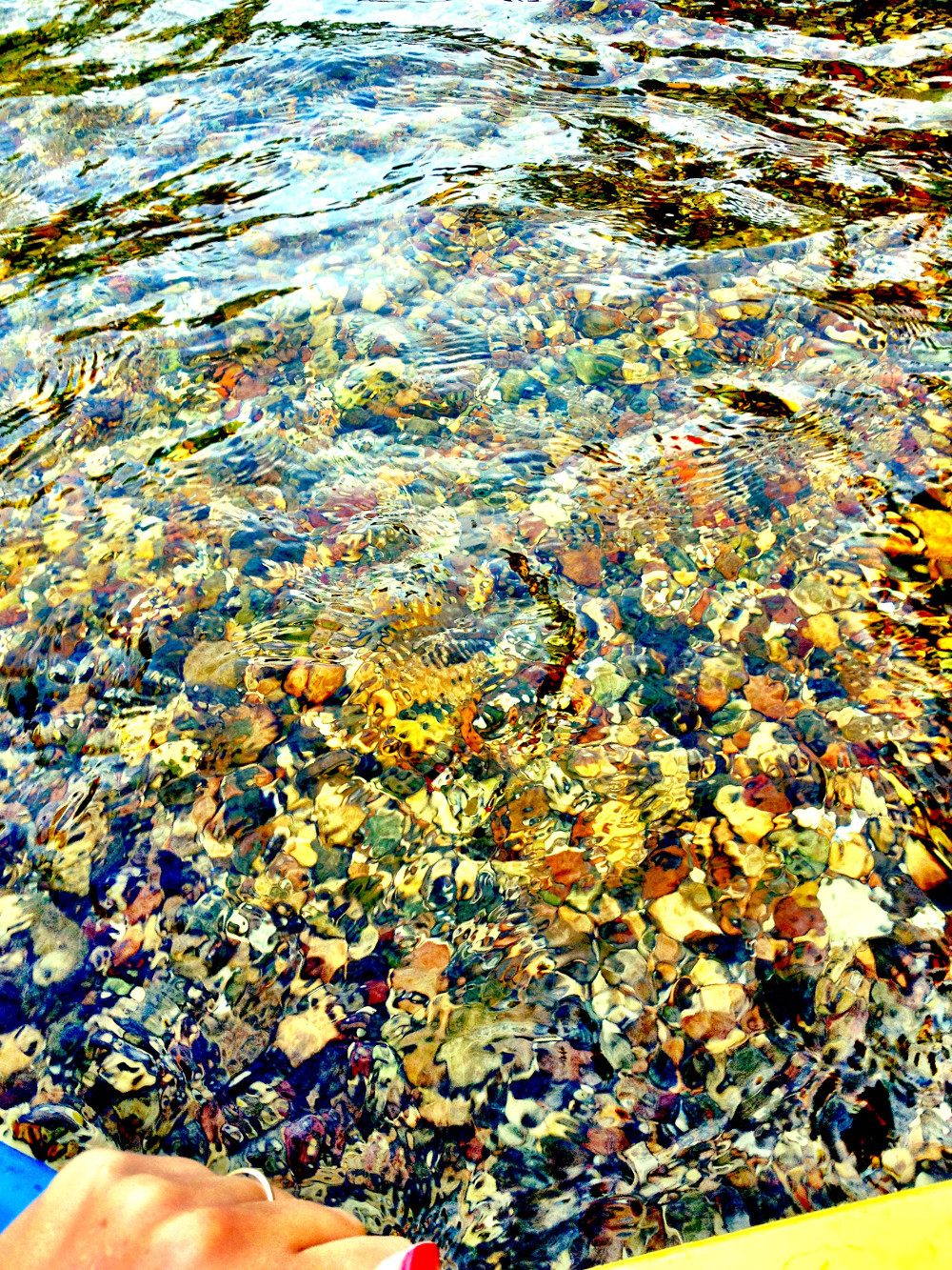 Crystal clear waters of Crystal River Glen Arbor Double-Barrelled Travel