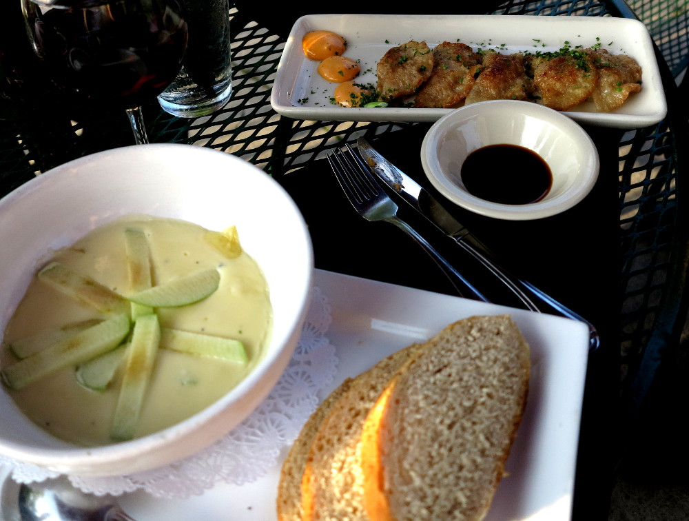 Food at the Firefly in Traverse City Double-Barrelled Travel