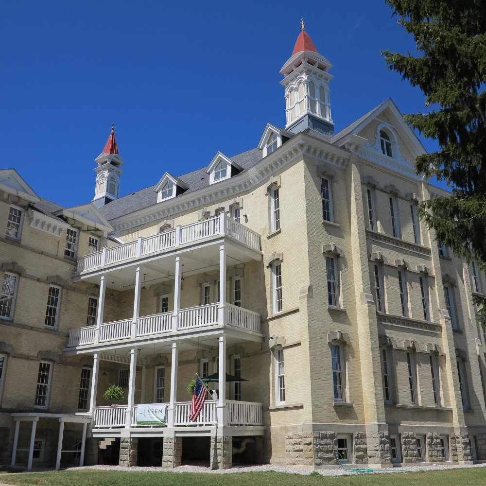 The old asylum near Traverse City Double-Barrelled Travel