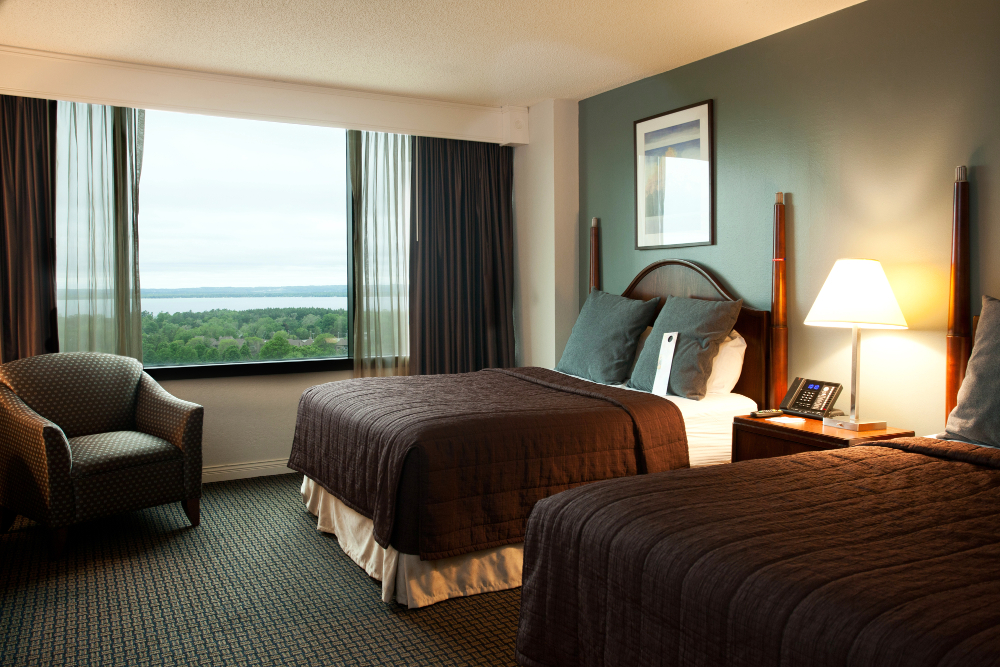 Tower room at the Grand Traverse Resort and Spa Double-Barrelled Travel