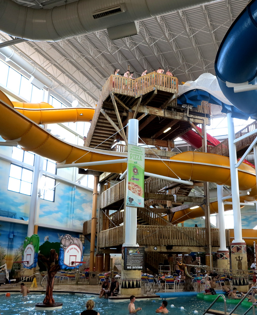 Wisconsin Dells water slides, Double-Barrelled Travel